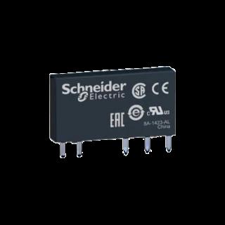 """RSL1AB4BD """"Slim"""" интерфейсно реле, оперативно напрежение 24V DC"""