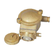 Brass explosion-proof socket, 3P, 250V, 16A