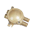 Brass explosion-proof junction box, 4P, 550V, 20A