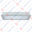Fluorescent ceiling light 2x20W /with emergency/