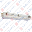 Fluorescent pendant light 2x20W /with emergency/