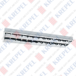 Stainless steel fluorescent grid light 2x40W