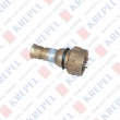 Brass plug for marine applications, 2P, 24V, 16A