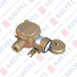 Brass socket for marine applications, 2P, 24V, 16A
