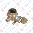 Brass socket with switch for marine applications, 3P, 125V, 16A /For shield cable/